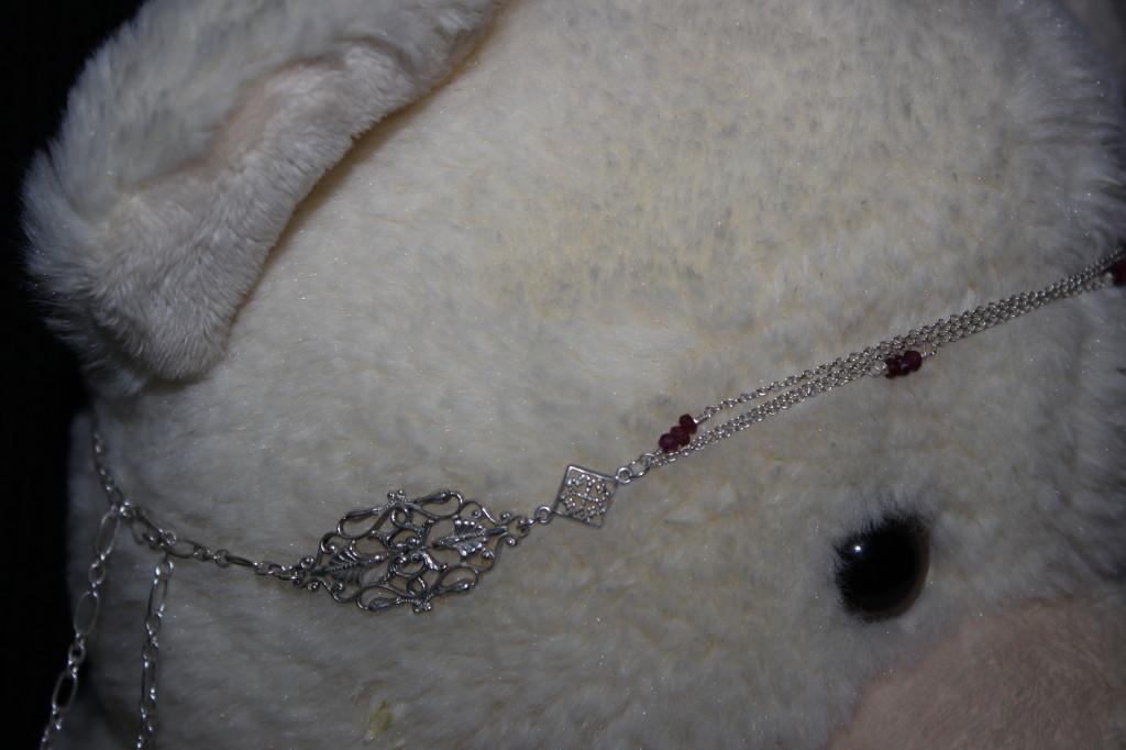 Schade Jewellery_Bijoux argenté de cheveux