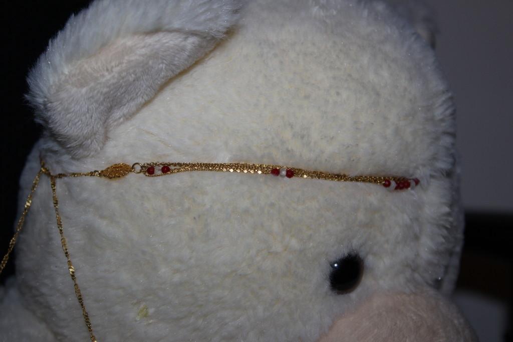 Schade Jewellery_Bijoux doré de cheveux